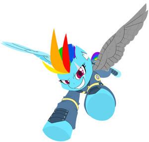 (Commission) Rainbow Dash