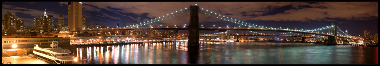Brooklyn Bridge by YOSHIMETAL