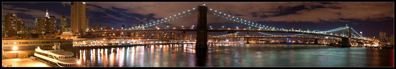 Brooklyn Bridge by YOSHIMETAL