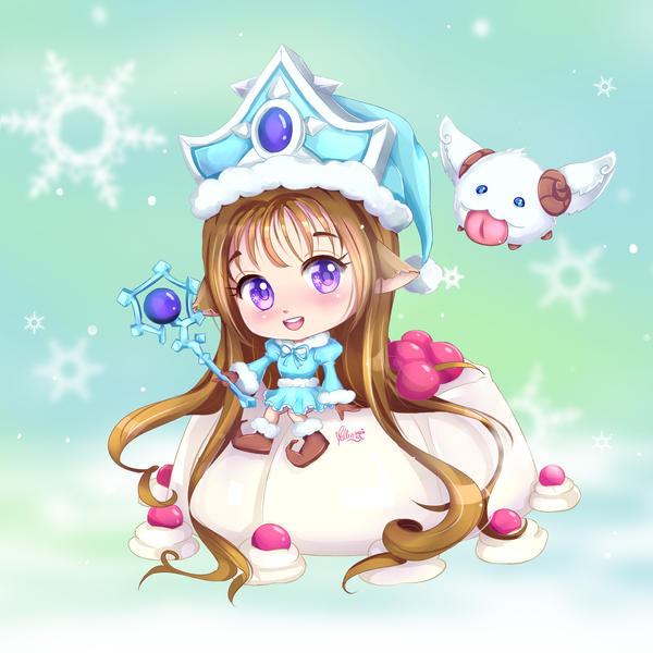 Snowpudding_Lyn by Mellin-Q