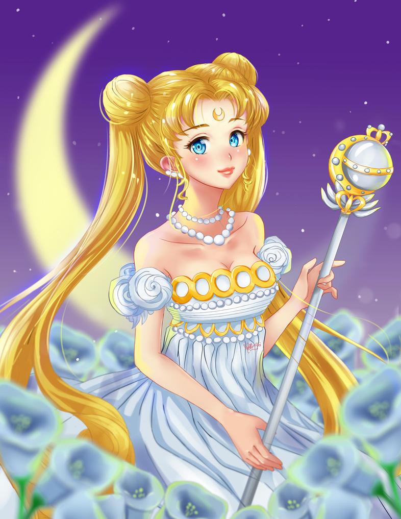 Princess Serenity by Mellin-Q