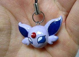 Espeon Charm by caffwin