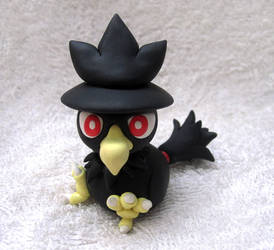 Murkrow Sculpture by caffwin
