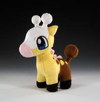Girafarig Pokedoll by caffwin