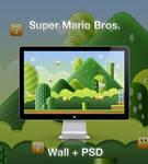 Super Mario Wallpaper+PSD