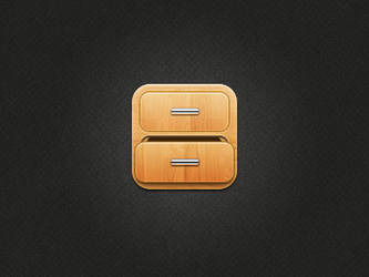 Drawer icon by JackieTran