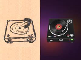 Vinyl Player by JackieTran