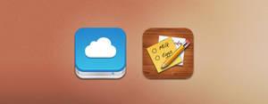 iOS icons PSD Sunday 2.