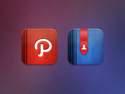 Path and Facebook icons from Marvelous set by JackieTran