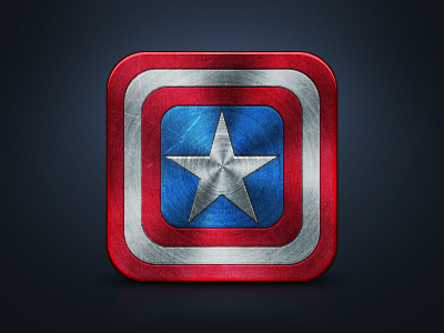 Captain America Icon by JackieTran