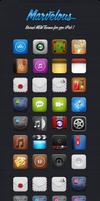Marvelous iPad iOS 5 Theme by JackieTran