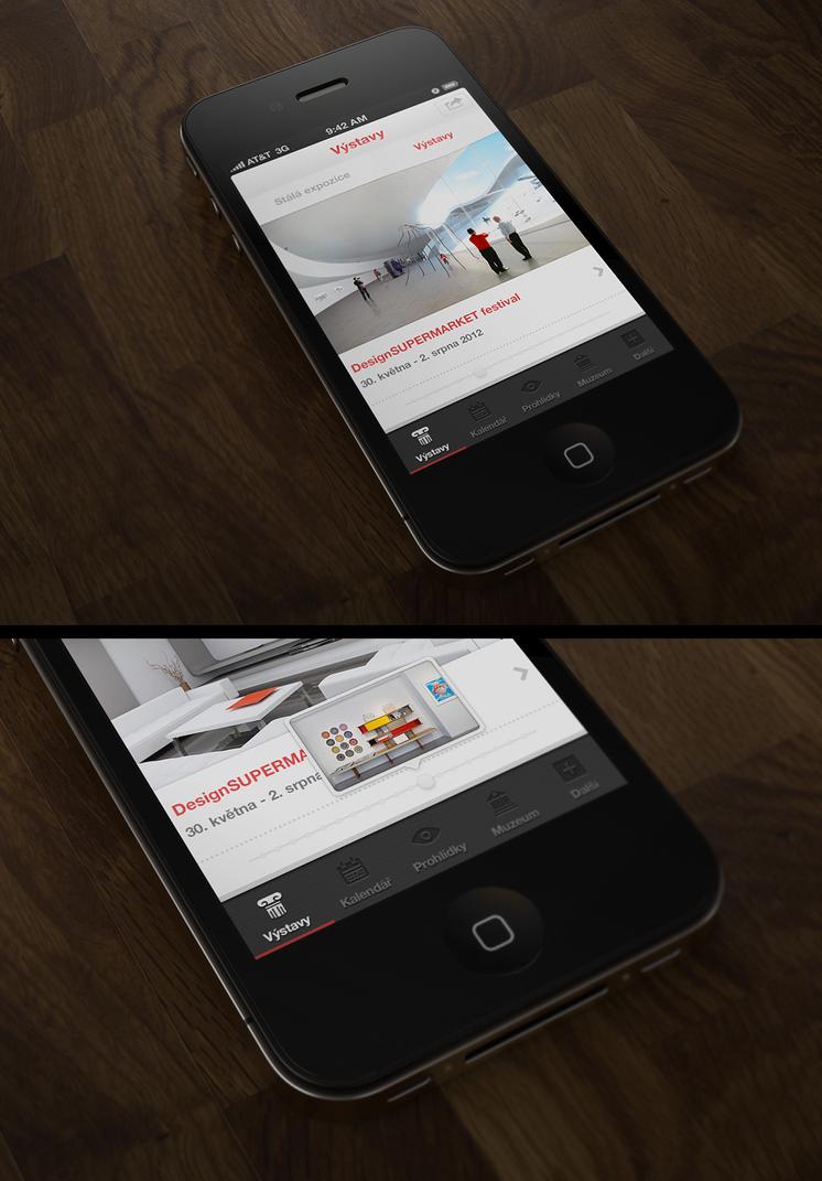 App UI by JackieTran