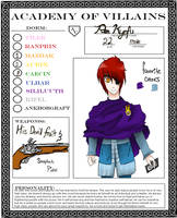 AoV Character Sheet- Ren by Mikan-bases