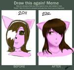Draw this again meme: Taressa