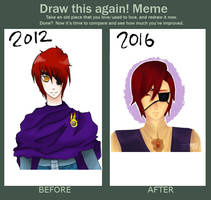 2016 Draw this Again Meme by Mikan-bases