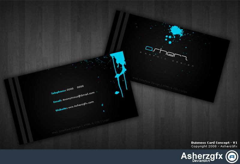 Buisness Card Concept - V1