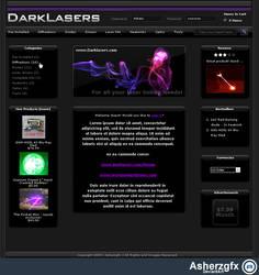 Darklasers - Zencart template