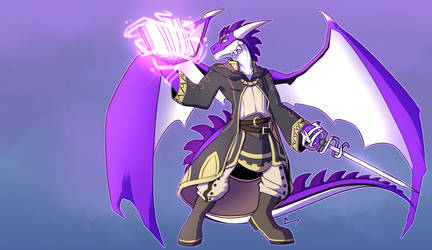 The Draconic Tactician: Art By - Cheitora