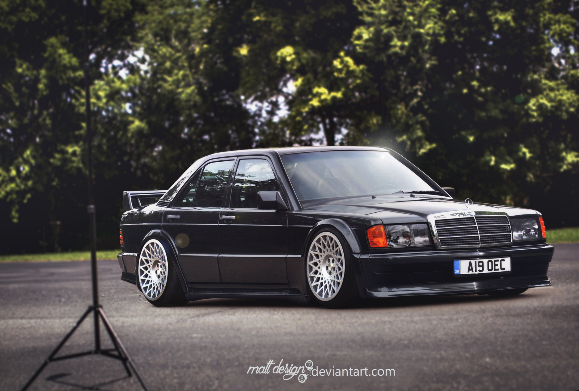 mercedes 190e by mattdesign78 on deviantart. Black Bedroom Furniture Sets. Home Design Ideas
