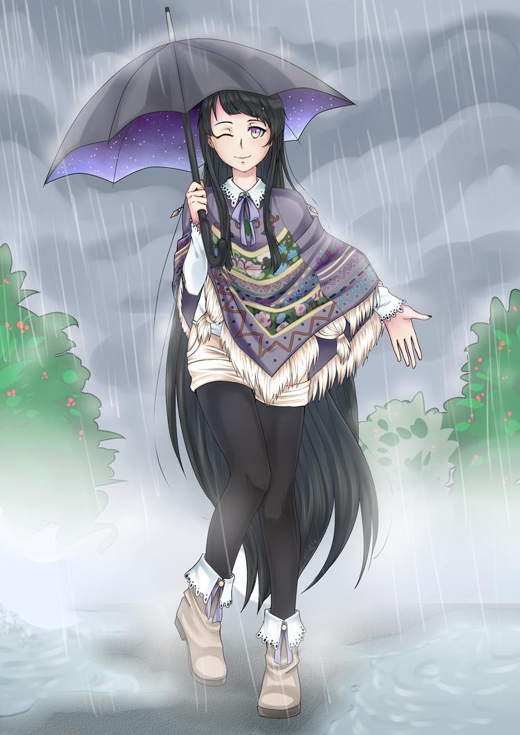 Rain by VOILET14
