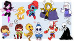 Attack of the Undertale Chibies