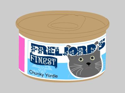 Freljord's Finest Cat Food by BenMakesGames