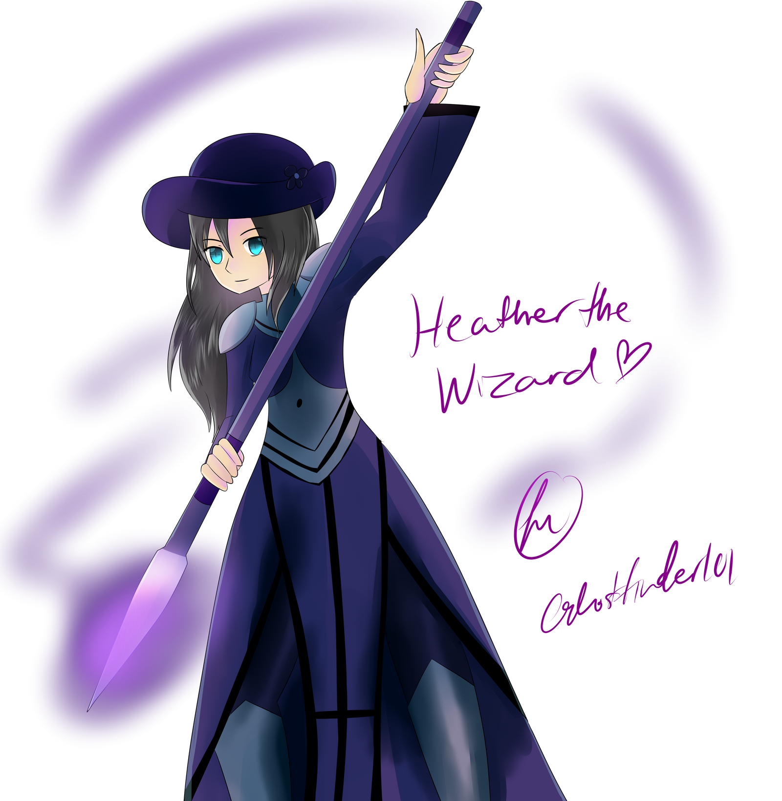 HeathertheWizard by ChronoWither