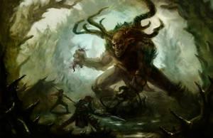 Forest Troll by Gordomuro