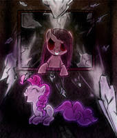 MLP - Broken Mirror by Lo-CreepyLittleChild