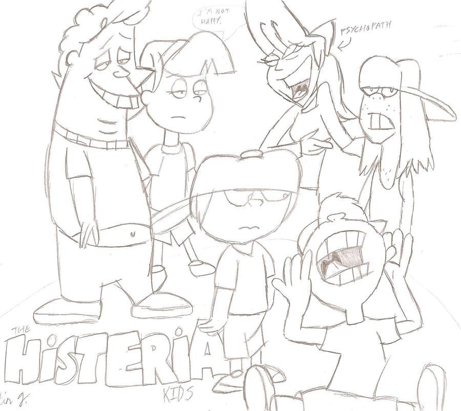 The Histeria Kids By JimmyTwoTimes2K9 On DeviantART