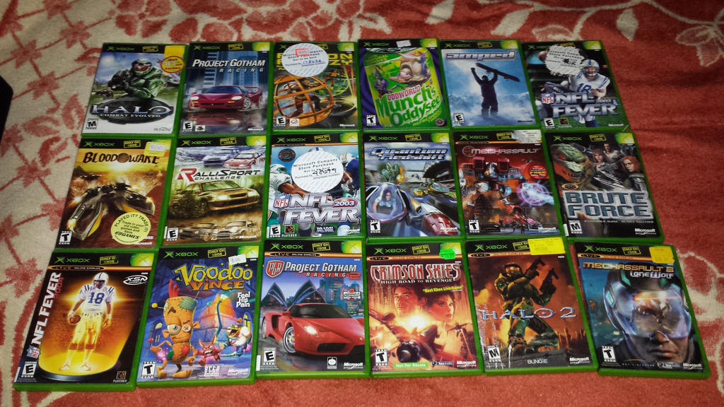 Old Xbox Games Racing Games : Xbox games i own published by microsoft