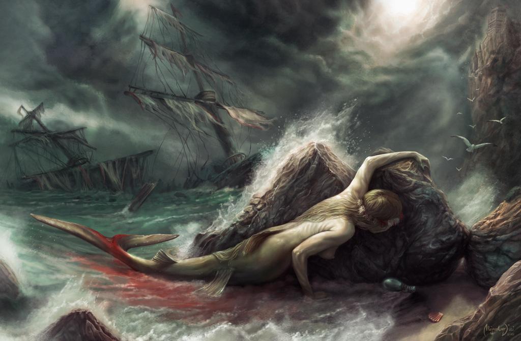 The Sacrifice of The Little Mermaid by Aledin