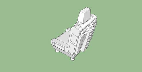 WIP: Sci-Fi ejector seat.