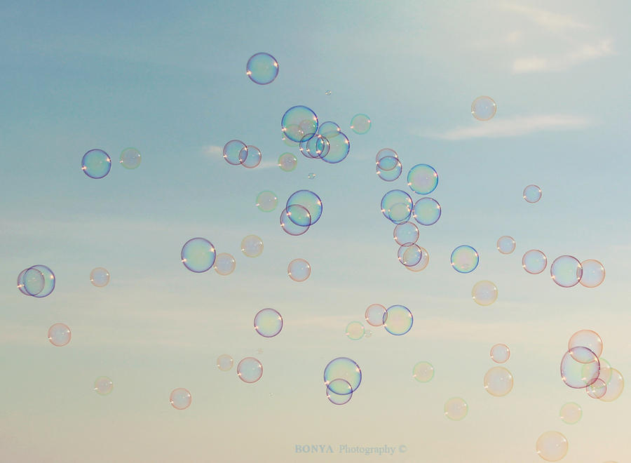 Soap bubbles by Bonyagirl