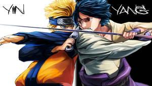 Naruto v. Sasuke PSP Wallpaper by hoodprophet