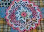crochet doily 5 by animemama-100