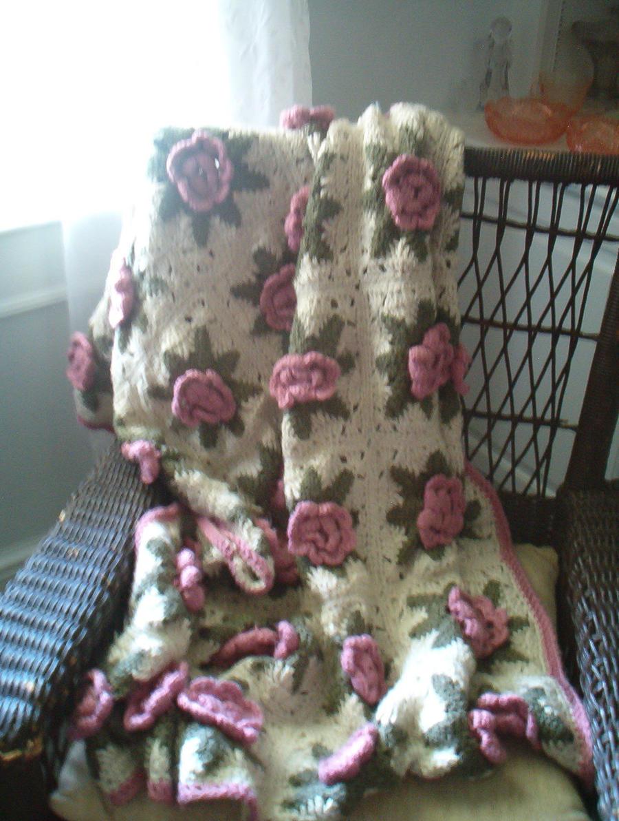 Irish rose crochet afghan pattern dancox for 27 irish rose afghan by animemama 100 on deviantart dt1010fo