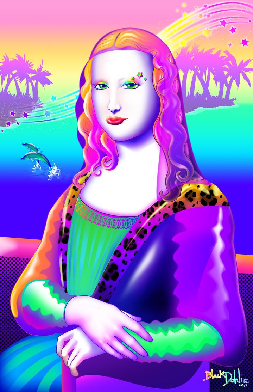 Mona Lisa Frank by blackdahlia