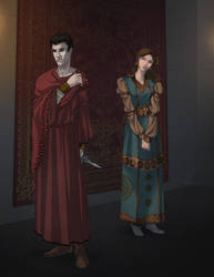 VtM Character Art (Medieval/Byzantine)