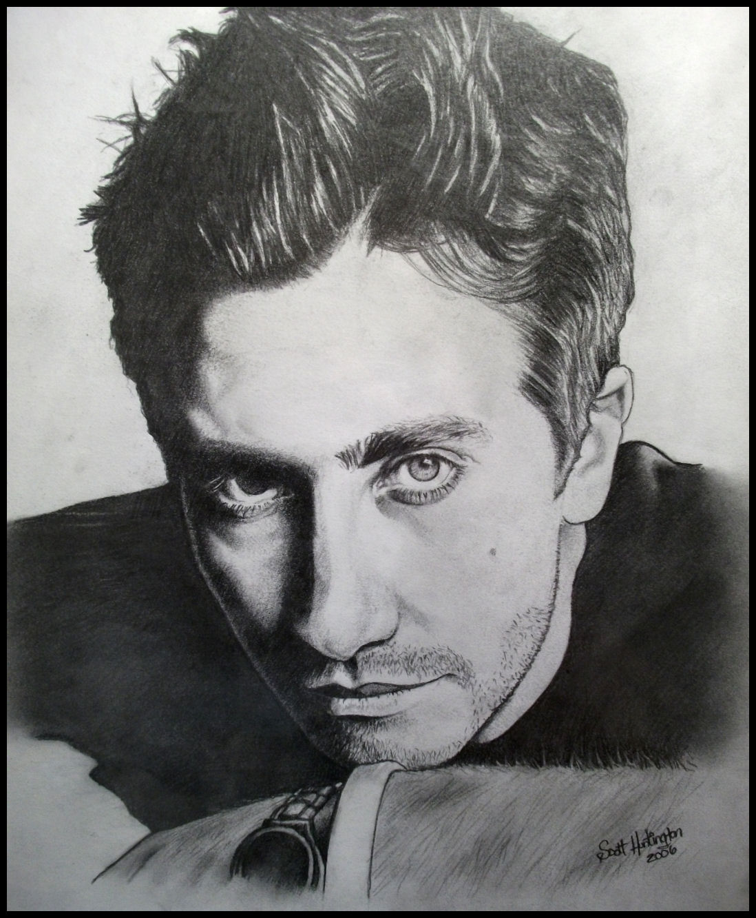 Jake Gyllenhaal by Skaughtt