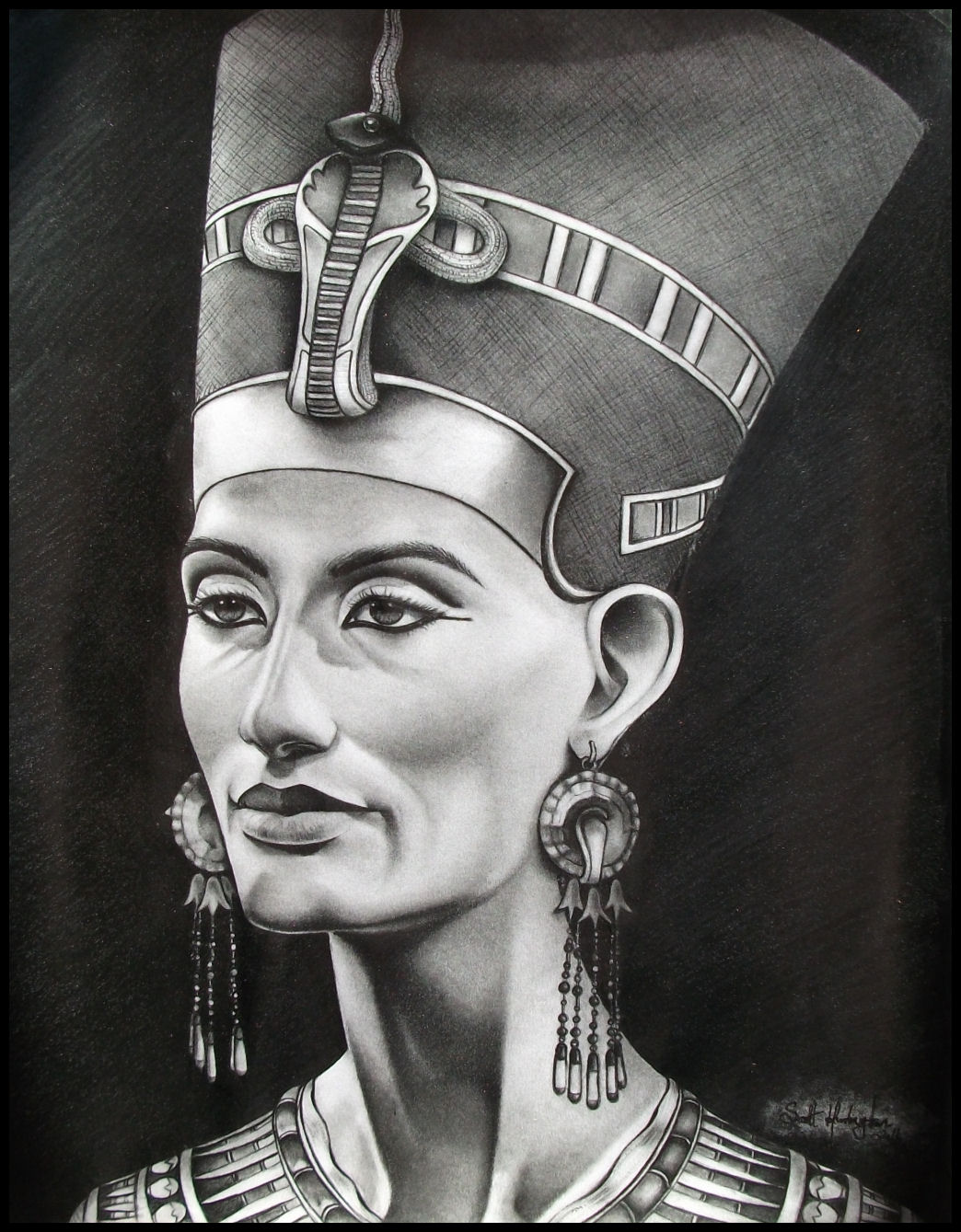 egyptian queen drawing - photo #27