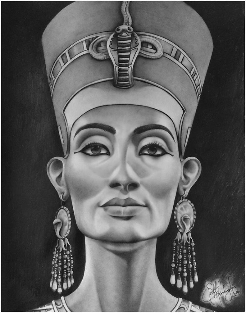 The gallery for --> Nefertiti Drawing