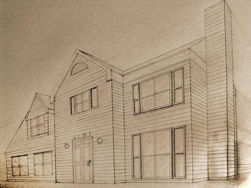 Line Art House : Simple house line art stock illustration of