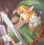 Link--Brave the Forest