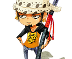Pixel Trafalgar Law by InjoKEI