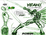 Robin Sketch by ANTOINE-X