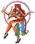 Tigress Hindu Dancer