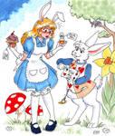 Aurlina in Wonderland