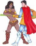 Acrobat and Cavalier