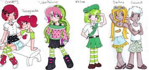 Strawberry Shortcake Recruits